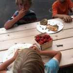 picnic table_pizza kids