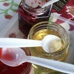wine jelly and spoons 2