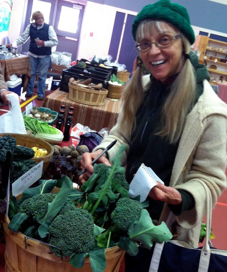 Canterbury Community Farmers Market indoor market