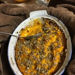 ANNUAL MEETING)squash casserole with sunflower seeds