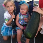 zucchini big as a baby