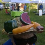fruit and veggie hat